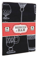 Behind The Bar: 2 Tea Towels : in the kitchen with 100% cotton...