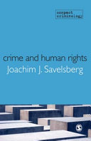 Crime and Human Rights