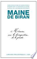 illustration Maine De Biran Ceuvres