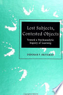 Lost Subjects  Contested Objects