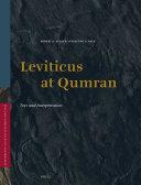 Leviticus at Qumran