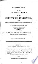 Agricultural Surveys  Inverness  1808