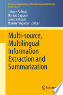Multi source  Multilingual Information Extraction and Summarization