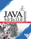 Java 9 0 To 13 0 New Features