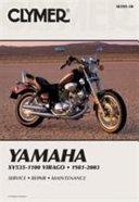 Clymer Yamaha Xv535 1100 Virago 1981 2003 Service Repair Maintenance
