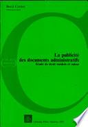 illustration La publicité des documents administratifs, étude de droit suédois et suisse