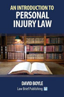 An Introduction to Personal Injury Law