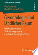 Gerontologie und ländlicher Raum