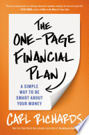 The One Page Financial Plan