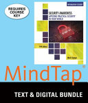 Security Awareness   Lms Integrated for Mindtap Information Security  1 Term   6 Months Access Card