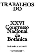 Trabalhos do ... Congresso Nacional de Botânica
