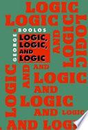 Logic  Logic  and Logic