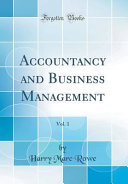 Accountancy and Business Management  Vol  1  Classic Reprint