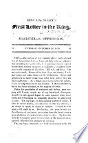 Miss Macauley S First Letter To The King On Magisterial Oppression