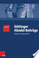 Göttinger Händel-Beiträge, Band 16