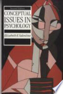 Book Conceptual Issues in Psychology