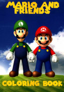 Mario and Friends Coloring Book