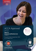 ACCA F4 Corporate and Business Law  English