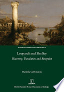 Leopardi and Shelley