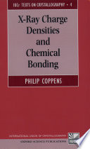 X Ray Charge Densities and Chemical Bonding