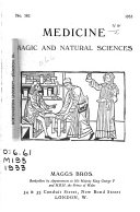 Manuscripts and Books on Medicine  Magic  Astrology and Natural Sciences