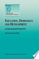 Education, Democracy and Development