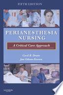 PeriAnesthesia Nursing