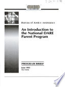 An Introduction to the National DARE Parent Program Book PDF