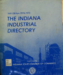 The Indiana Industrial Directory