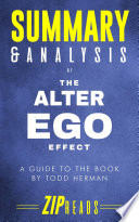 Summary Analysis Of The Alter Ego Effect