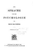 Beiträge zu einer Kritik der Sprache: Zur Sprache und zur Psychologie.- Vol. 2. Zur Sprachwissenschaft.- Vol. 3. Zur Grammatik und Logik