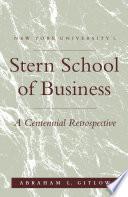 NYU S Stern School of Business