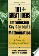 101  Great Ideas for Introducing Key Concepts in Mathematics