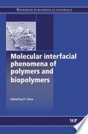 Molecular Interfacial Phenomena of Polymers and Biopolymers