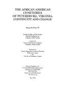 The African American Cemeteries of Petersburg, Virginia