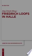 Friedrich Loofs in Halle