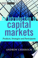 An Introduction to Capital Markets