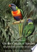 On the Origin of Species  English Italian Edition illustrated