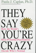 They Say You re Crazy