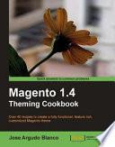 Magento 1 4 Theming Cookbook