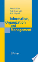 Information  Organization and Management