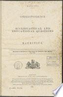 Verzameling rapporten, verslagen en andere stukken betreffende staatsadministratieve, juridische onderwerpen e.d. betrekking hebbende op de Britse kolonie Mauritius