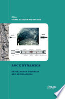 Rock Dynamics and Applications 3
