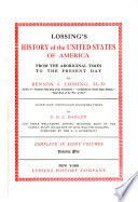 Lossing s history of the United States of America from the aboriginal times to the present day