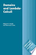 Domains and Lambda Calculi
