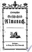 Oettingischer Geschichts-Almanach