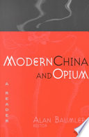 Modern China And Opium