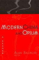 Modern China and Opium