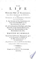 The Life Of Edward Earl Of Clarendon