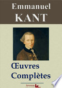 Emmanuel Kant Oeuvres Compl Tes